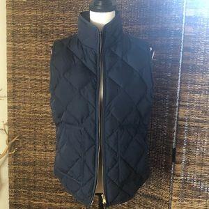 J.Crew puffer vest worn once!
